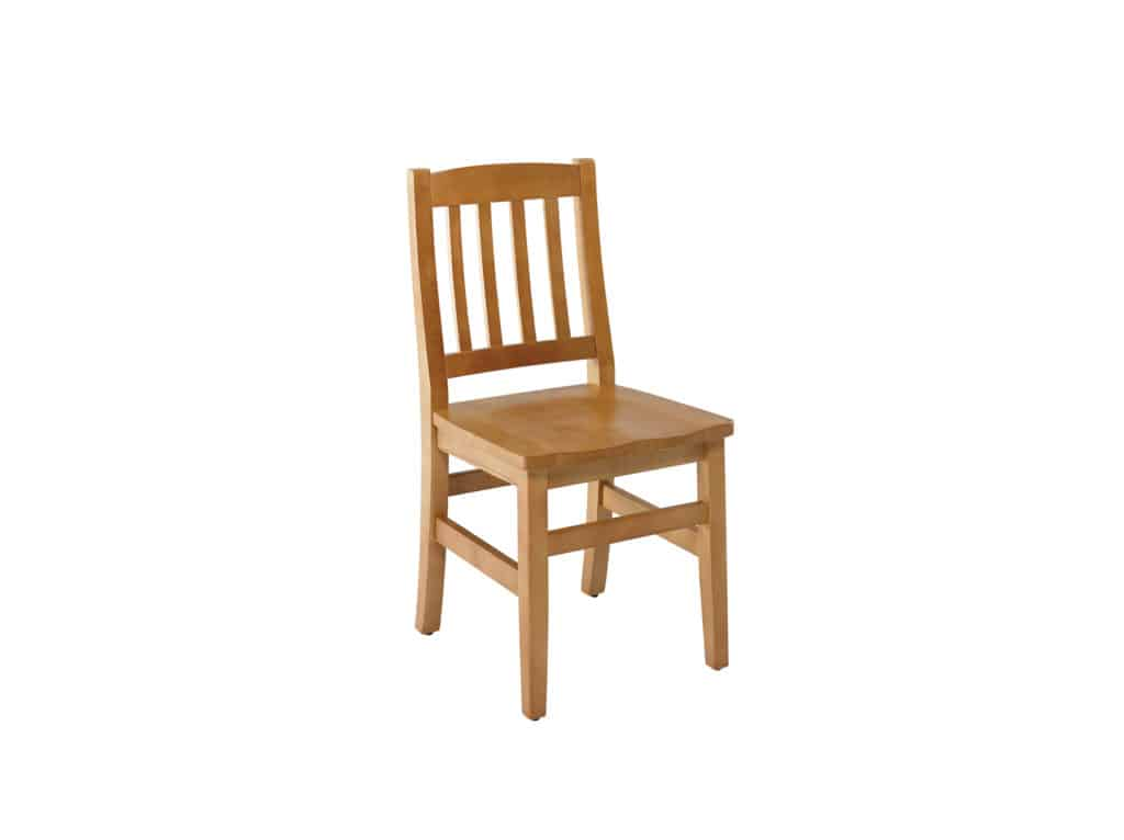 Dalton Side Chair, in All Wood