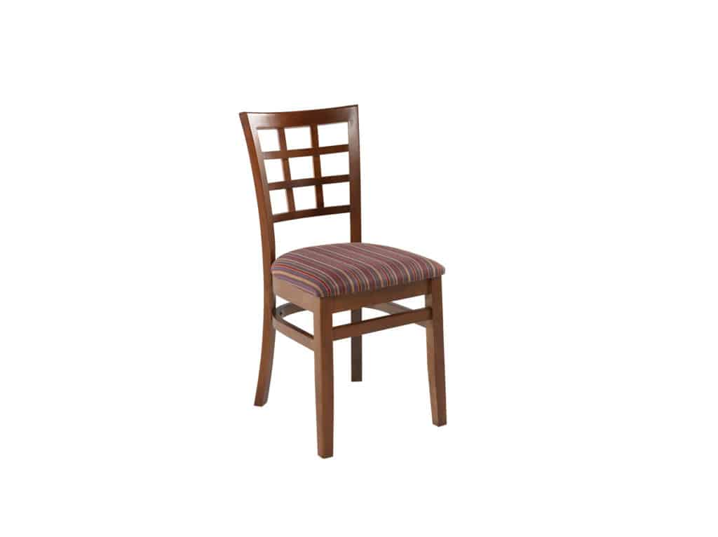 Bowen Side Chair, Upholstered Seat